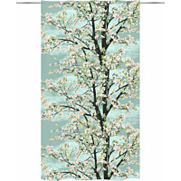 Sivuverho Vallila Omenapuu 140x250cm sininen