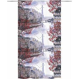 Sivuverho Vallila Pariisi 140x250cm punainen