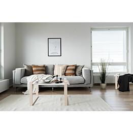 Sohvapöytä OHTO Nordic Home Laaka valkoinen lisäkuva