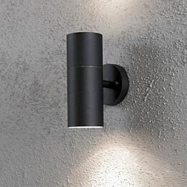 Seinävalaisin Modena Max 7656-750 75x130x195 mm ylös/alas musta