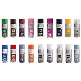 Spraymaali 100-sarja 400ml perusvärit eri värivaihtoehtoja (6kpl)