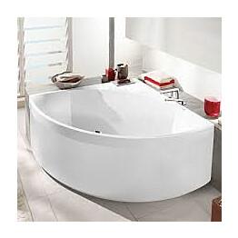 Squaro-kylpyammeen etulevy Villeroy & Boch 1450x1450 mm valkoinen