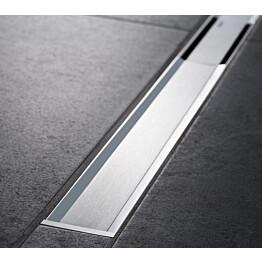 Suihkukouru Geberit CleanLine60 30-90 cm, sähkökiillotettu rst
