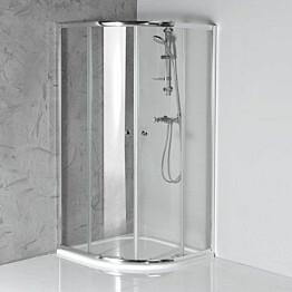 Suihkunurkka Interia Arleta 900x900 mm kirkas lasi