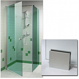 Suihkunurkka GlassHouse 80x80x200cm vihreä lasi