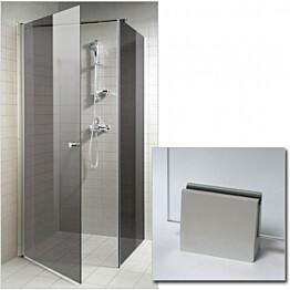 Suihkunurkka GlassHouse 90x90x200cm harmaa lasi