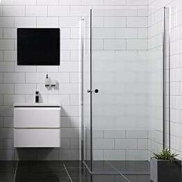 Suihkunurkka Bathlife Mångsidig Vital ovi 900 + ovi 900 osittain himmeä