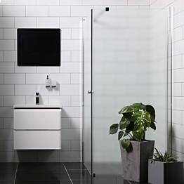 Suihkunurkka Bathlife Mångsidig Vital seinä 900 kirkas + ovi 900 himmeä