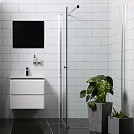 Suihkunurkka Bathlife Mångsidig Vital 1000x700 mm kulmikas kirkas