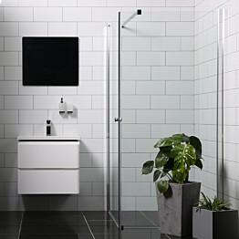 Suihkunurkka Bathlife Mångsidig Vital 1000x900 mm kulmikas kirkas