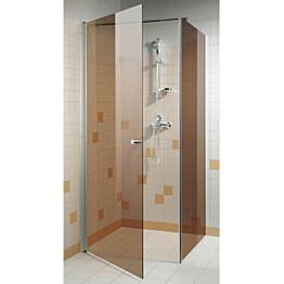 Suihkuovi GlassHouse 90x200cm pronssi lasi