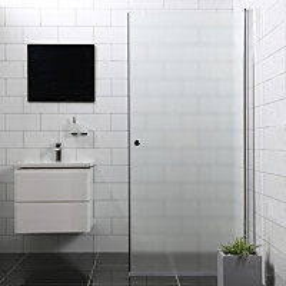 Suihkuovi Bathlife Mångsidig 900 S/P suora himmeä