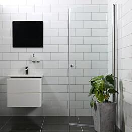 Suihkuovi Bathlife Mångsidig Vital 45° 1000x1900 mm H/P kirkas