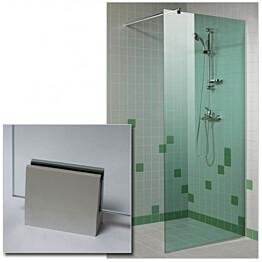 Suihkuseinä GlassHouse 90x200cm vihreä lasi