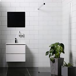 Suihkuseinä Bathlife Mångsidig 1000 P/P suora himmeä