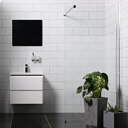 Suihkuseinä Bathlife Mångsidig 1000 P/P suora osittain himmeä