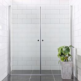 Suihkuseinä Bathlife Mångsidig Vital ovi 700 + ovi 800 osittain himmeä