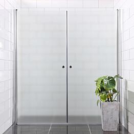 Suihkuseinä Bathlife Mångsidig Vital ovi 700 + ovi 900 himmeä