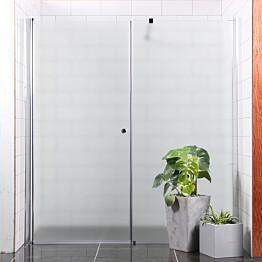 Suihkuseinä Bathlife Mångsidig Vital seinä 900 kirkas + ovi 1000 himmeä