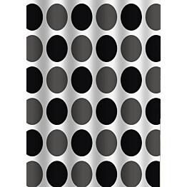 Suihkuverho Duschy Dark Circles 180x200cm