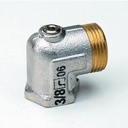Sulkuyhdistäjä Oras Stabila 435120 DN20 kulma ilman liitintä