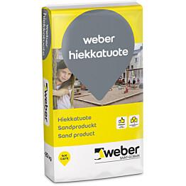 Weber suodatinhiekka käyttökohde