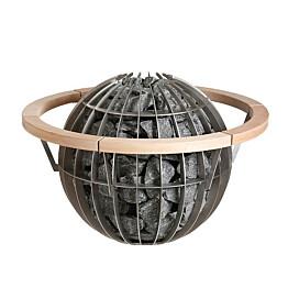 Suojakaide Harvia HGL7 Globe 11 kW-kiukaalle lämpökäsitelty haapa