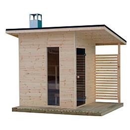 Pihasauna Suomi 100 sauna Tammiston puu