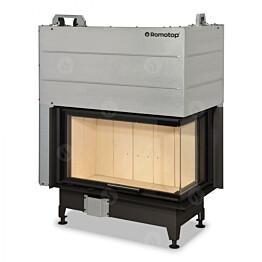 Takkasydän Romotop Heat 2LF 01, 6-15,5 kW, 300 m3