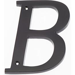 Talokirjain Hovila B 125 mm musta