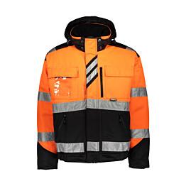 Talvitakki Dimex 60211 hi-vis oranssi/musta