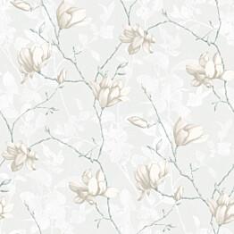 Tapetti Boråstapeter InBloom Lilly Tree, 7229, 0.53x10.05m, valkoinen
