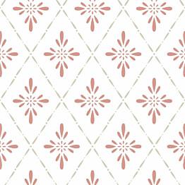 Tapetti Duro 1900 Ljungbacka 392-03, 0.53x10.05m, punainen