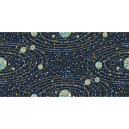 Tapetti Engblad & Co Graphic World, Orbit 8801, 0.53x10.05m, sininen