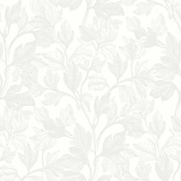 Tapetti Engblad & Co White & Light, Fig 7167, 0.53x10.05m, mattavalkoinen