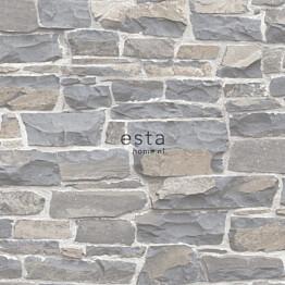 Tapetti Esta Brooklyn Bridge 138518 0,53x10,05 m sininen/harmaa/ruskea/valkoinen
