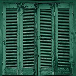 Tapetti Esta Greenhouse 138885 0,53x10,05 m vihreä/musta