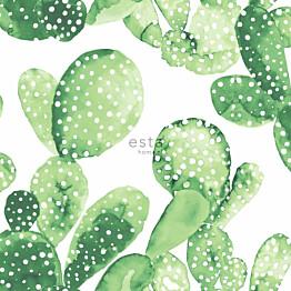 Tapetti Esta Greenhouse 138902 0,53x10,05 m vihreä/valkoinen