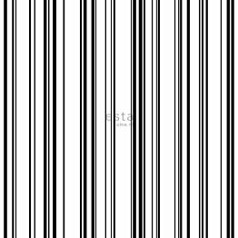 Tapetti ESTA Jungle Fever 138982 0.53x10.05m non-woven musta/valkoinen