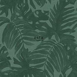 Tapetti ESTA Jungle Fever 138991 0.53x10.05m non-woven vihreä