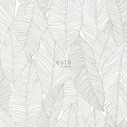 Tapetti ESTA Jungle Fever 139009 0.53x10.05m non-woven vihreä/valkoinen
