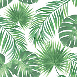 Tapetti ESTA Jungle Fever 139013 0.53x10.05m non-woven vihreä/valkoinen