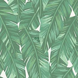 Tapetti ESTA Jungle Fever 139014 0.53x10.05m non-woven vihreä/valkoinen