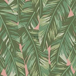 Tapetti ESTA Jungle Fever 139015 0.53x10.05m non-woven vihreä/vaaleanpunainen