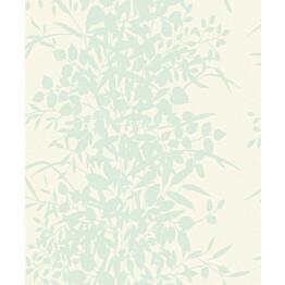 Tapetti Nordic Elegance NG2092 0,53x10,05 m valkoinen/vihreä/hopea non-woven