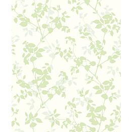 Tapetti Nordic Elegance NG3105 0,53x10,05 m valkoinen/vihreä/sininen/hopea non-woven