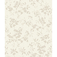Tapetti Nordic Elegance NG3108 0,53x10,05 m harmaa/beige/hopea non-woven
