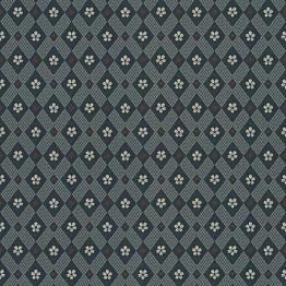 Tapetti Sandberg Kimono tummansininen 238-96, 0.53x10.05m, non-woven