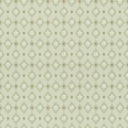 Tapetti Sandberg Kimono vihreä 238-38, 0.53x10.05m, non-woven