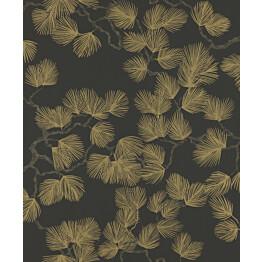 Tapetti Sandberg Pine musta 804-99, 0.53x10.05m, non-woven